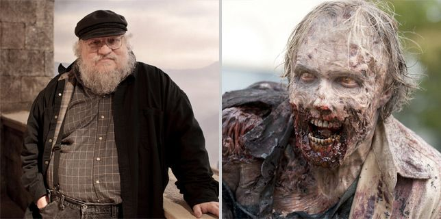 Il Trono di Spade: George R.R. Martin spiega come sopravvivere in The Walking Dead