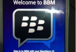 BBM4ALL, Blackberry messenger on Android appstore are fake apps -