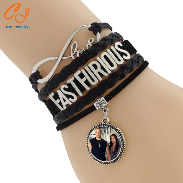 NEW Multilayer Braided Bracelets Fast Furious Infinity Charm Bracelet, Multicolor Women Leather Bracelet & Bangle