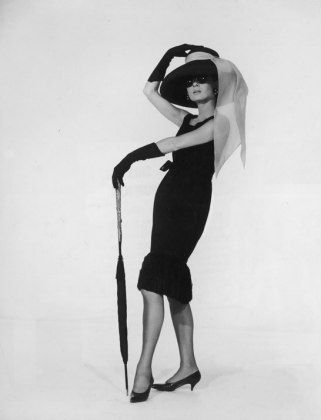 "Audrey Hepburn in Breakfast at Tiffany's: The ""Kimye"" Era: 100 Celebrity Halloween Costume Ideas : Lucky Magazine"