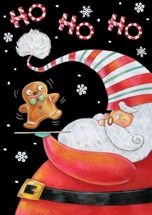 Christmas: Santa art