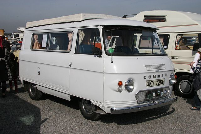 Vintage Campers for Sale | Nice old Commer camper in for sale section | Flickr - Photo Sharing!