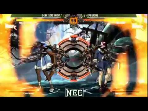 NEC 17 Guilty Gear Xrd Revelator Pool matches Part 2