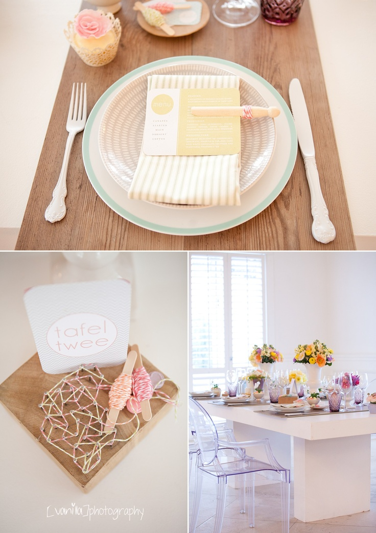 Vanilla Photography -  pastel wedding decor inspiration