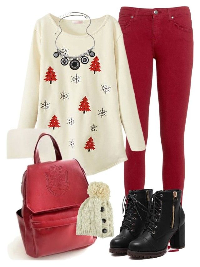 """""""Christmas New eve special outfit occasion"""" by myfriendshop ❤ liked on Polyvore featuring Tommy Hilfiger"""