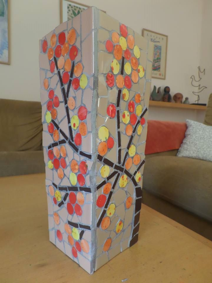 Mosaic vase - side no 2