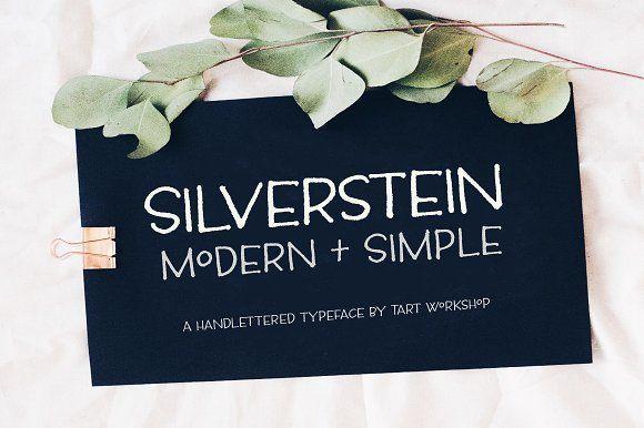 Silverstein  by Tart Workshop on @creativemarket