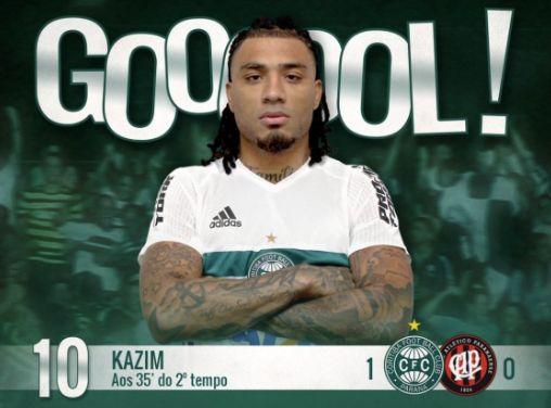 Colin Kazim-Richards scores winner for Coritiba on debut v Atletico PR (video)
