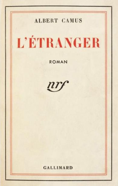 """The Stranger ~ Through the story of an ordinary man unwittingly drawn into a senseless murder on an Algerian beach, Camus explored what he termed """"the nakedness of man faced with the absurd."""" ~ http://www.goodreads.com"""
