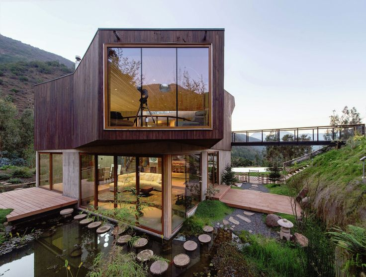 image 3 of 23 from gallery of el maqui house gitc arquitectura photograph by felipe daz contardo - Modern Houses Images