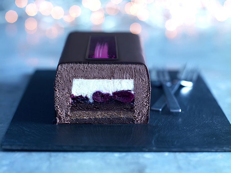 Heston's Black Forest Buche, Heston Blumenthal has created his version of the classic Black Forest Gâteau recipe exclusively for UK retailer Waitrose