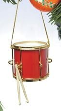 Red Marching Drum Hanging Decoration