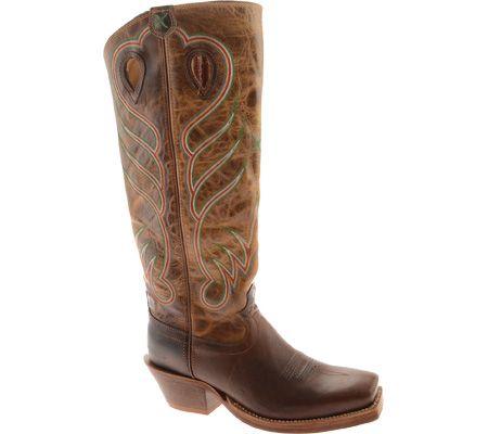 Twisted X Men's Buckaroo Boot – Saddle/Hazel (Free shipping on orders over $120.00)