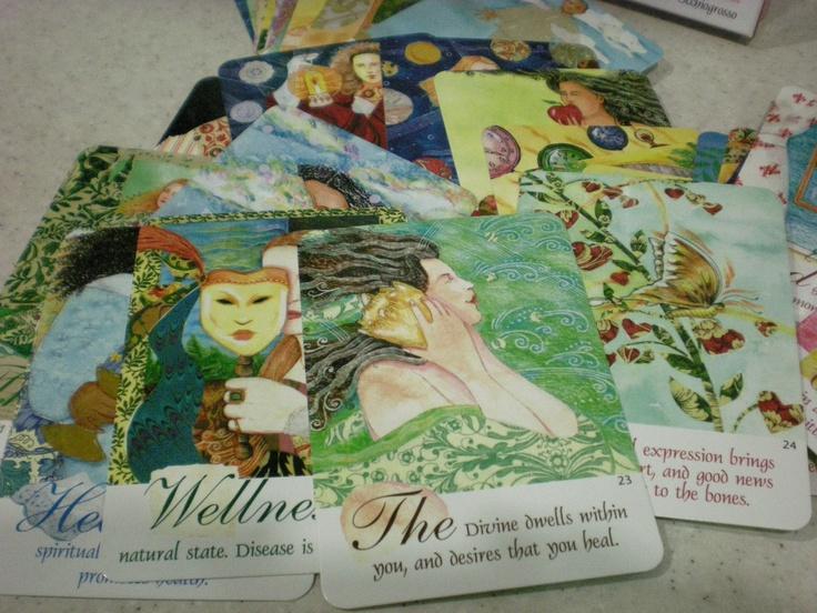 Healing cards by caroline myss oracles pinterest