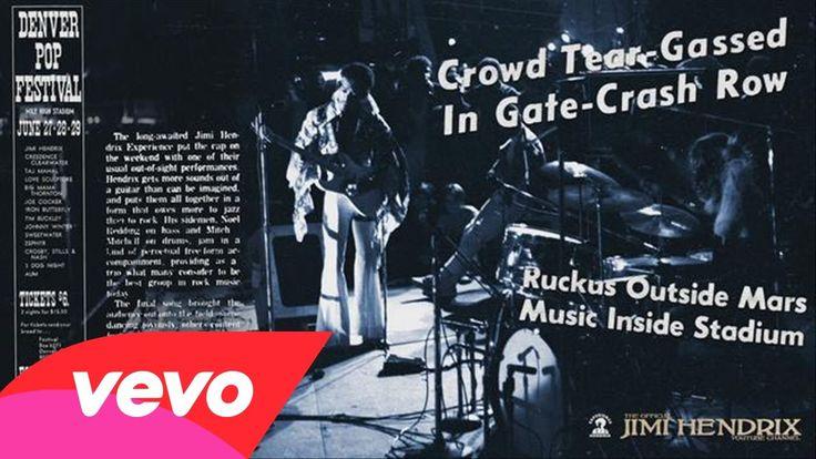 Jimi Hendrix - Red House (Denver Pop 1969)