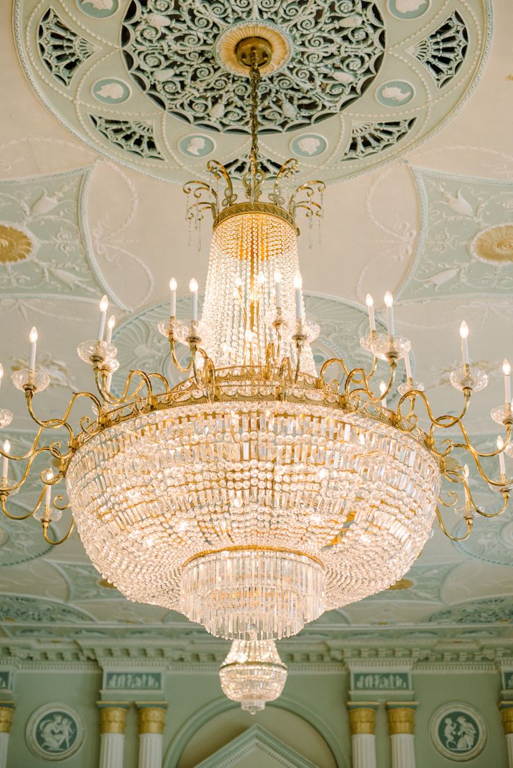 140 best chandeliers images on pinterest my house beautiful all white biltmore ballroom wedding arubaitofo Choice Image
