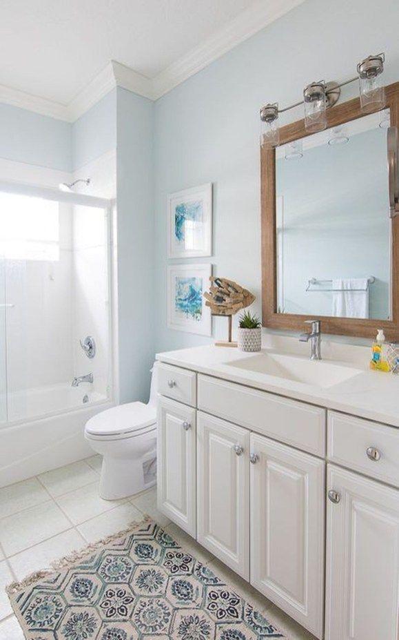38 Fabulous Coastal Decor Ideas For Bathroom Coastal Color