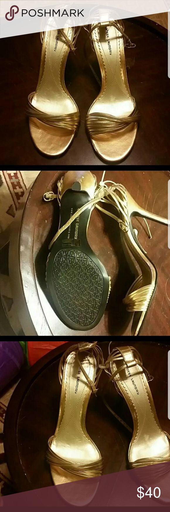 Chinese laundry heels Chinese Laundry golden heels brand new . chienese Laundry Shoes Heels