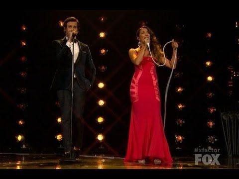 Sounds like something Micheal Buble would sing:)) Alex and Sierra - I Knew You Were Trouble - X Factor USA 2013 (Top 8)