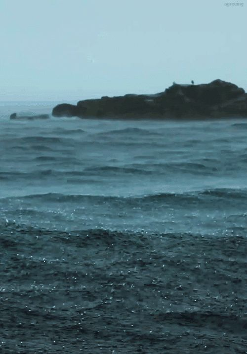 This ocean on a rainy day: Things You Won't Be Able To Stop Looking At
