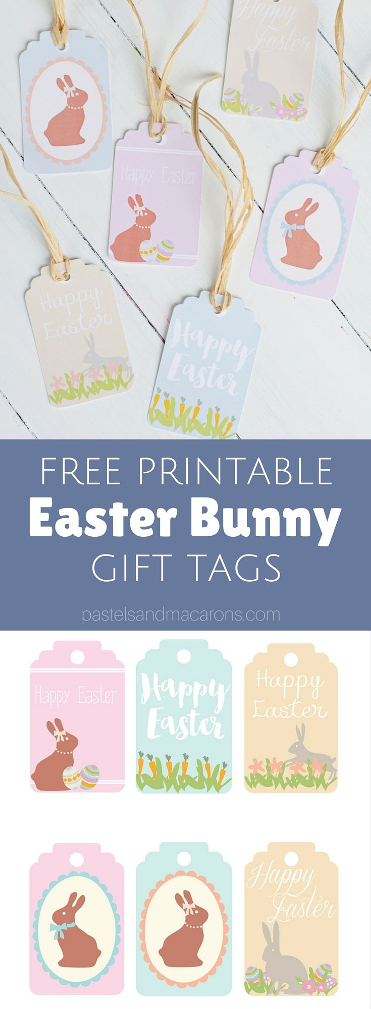 172 best printable goodies images on pinterest free printables download these adorable easter gift tags printable for free negle Choice Image