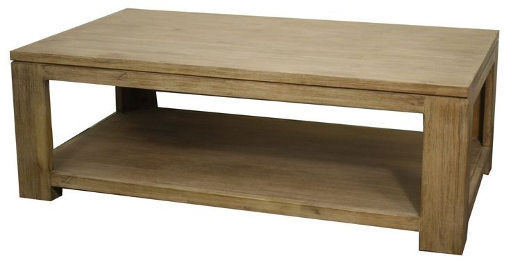 Bedford Coffee Table, Brushed Smoke