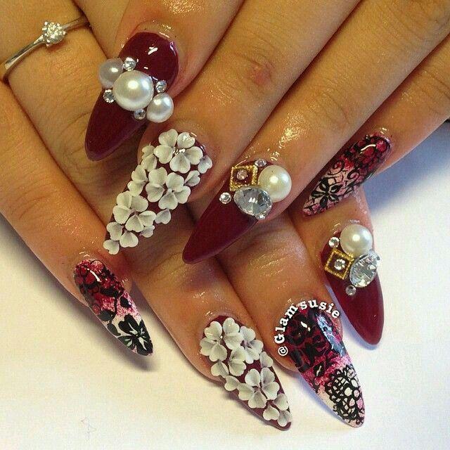3d nail art - Google Search