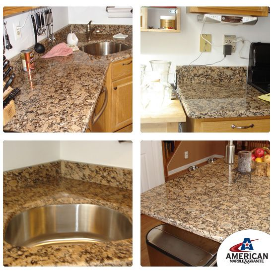 Granite Countertop Remodel: 17 Best Images About Granite With White Cabinets On