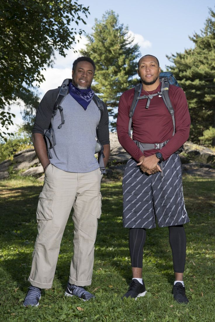 """Shawn Marion and Cedric Ceballos -   The Amazing Race """"Retired NBA Players"""" Cedric Ceballos and Shawn Marion"""