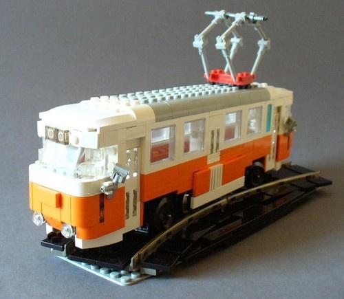 Lego Tatra Tram