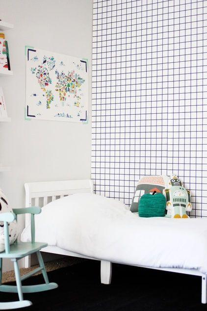 WALL DECOR FOR LITTLE BOYS - school notebook wallpaper