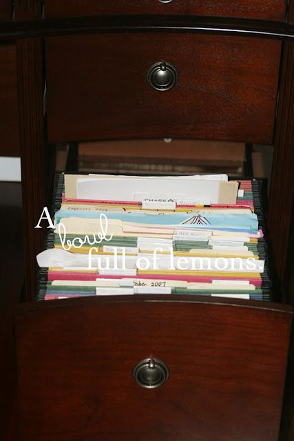 17 Best Images About Organization Filing System Options On Pinterest