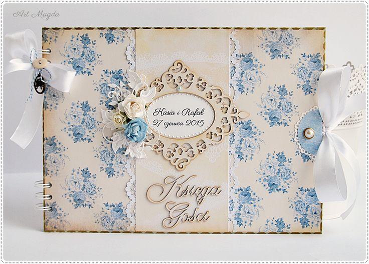 Coś niebieskiego na ślub czyli Księga Gości