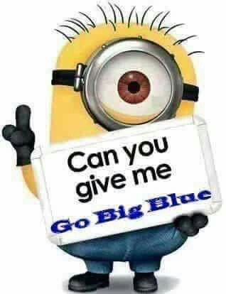 🏀 GO BIG BLUE!!!😁👍🏀💙