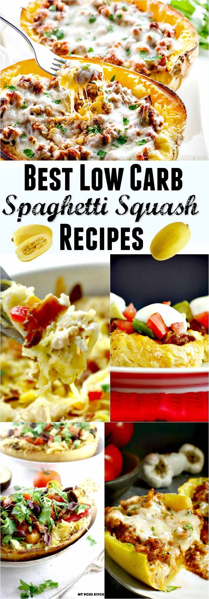 Best Low Carb Spaghetti Squash Recipe Collection