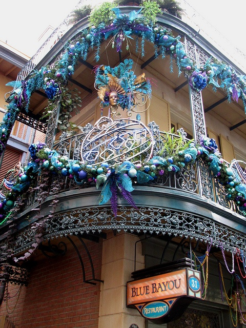 New Orleans Square in Disneyland, Anaheim CA. Blue Bayou is so good. And they serve the best clam chowder in a bread bowl.