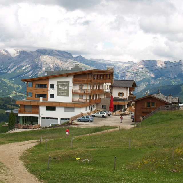 Goldknopf hotel on the Seiser Alm