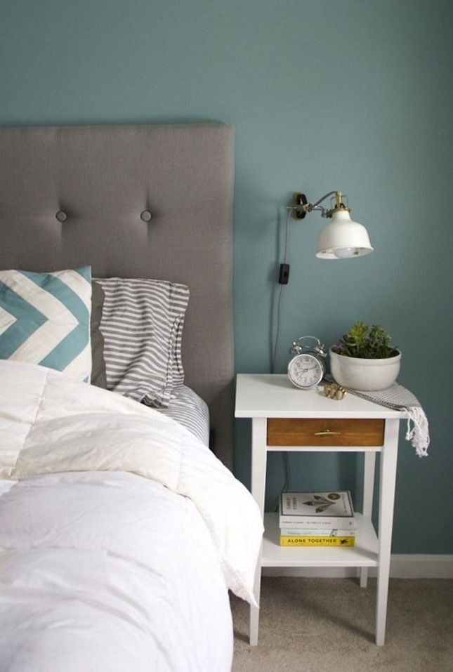 Upgrade the Hemnes side table into a stylish nightstand.