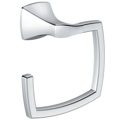 MOEN Voss Towel Ring in Chrome-YB5186CH - The Home Depot 4212 Southwestern  powder room