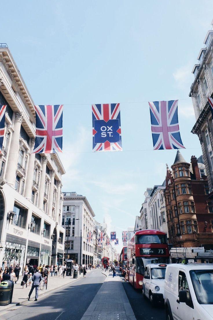 : Oxford Street, London, UK Europe trip 2016