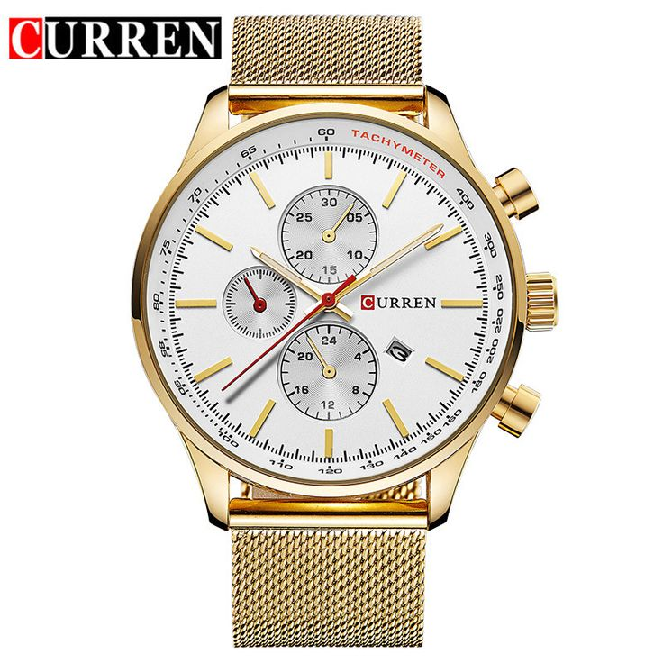 CURREN Watches FashionCasual Full Sports Watches Relogio Masculino Business relojes Quartz watch 8227