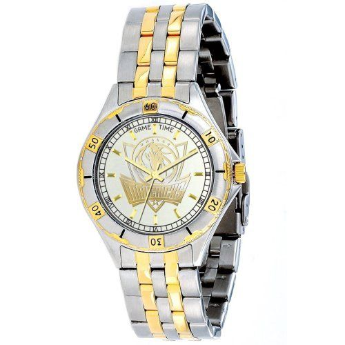 NBA Men's BT-DAL General Manager Series Dallas Mavericks Watch Game Time. $99.95. Quartz movement. Water resistant to 5 ATM. Citizen quartz movement. Water-resistant to 165 feet (50 M). 23k Gold accents on stainless steel case and bracelet