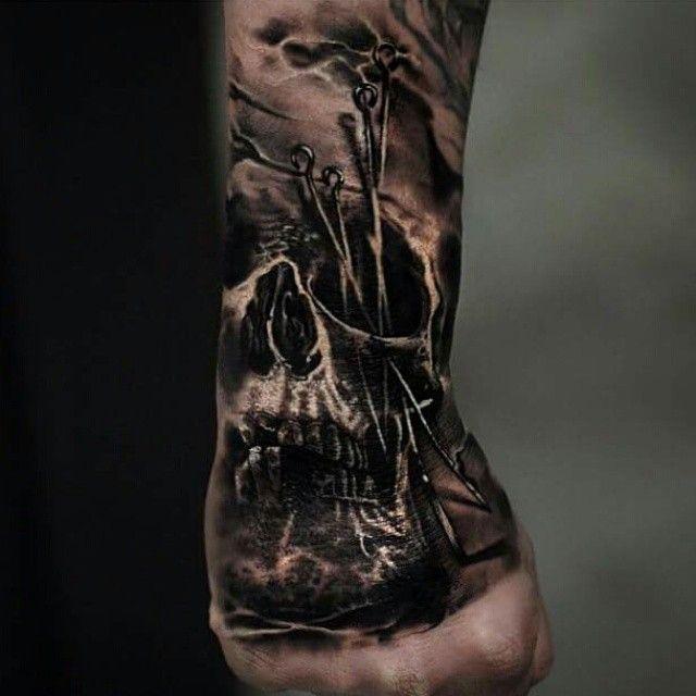 Stunning This Tattoo Artist Uses Real Flowers To Create: No Regrets Cheltenham