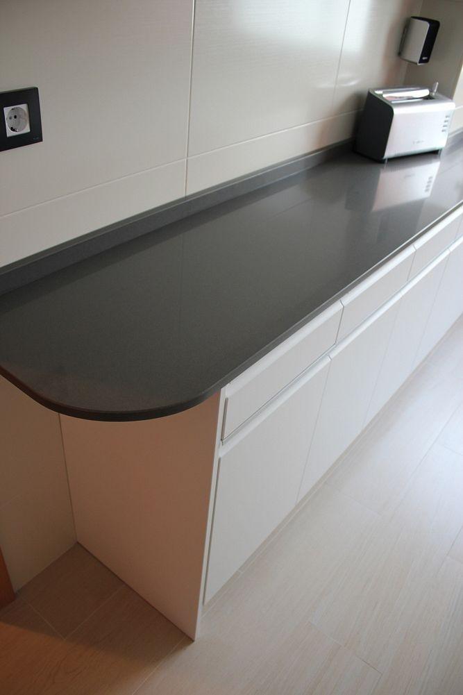 Dise o de cocinas dise o de cocinas en carabanchel - Silestone cemento spa ...