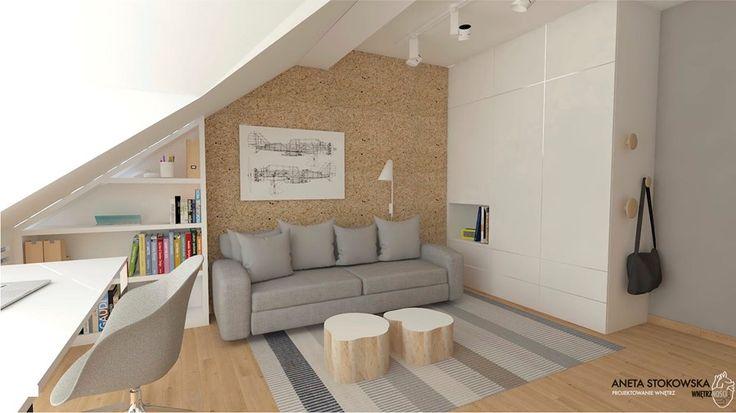 Pokój Nastolatka - Pokój dziecka, styl nowoczesny - zdjęcie od WNĘTRZNOŚCI Projektowanie wnętrz i mebli Aneta Stokowska
