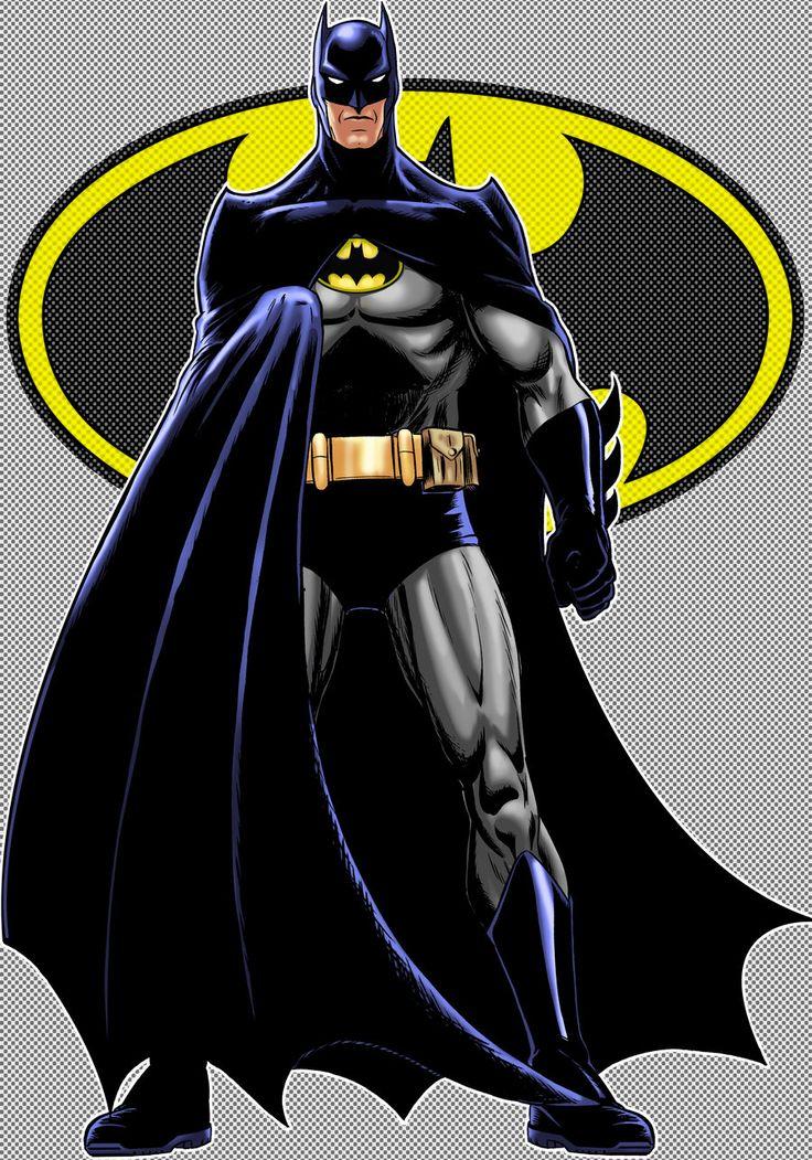 Batman Classic Variant by Thuddleston.deviantart.com on @DeviantArt