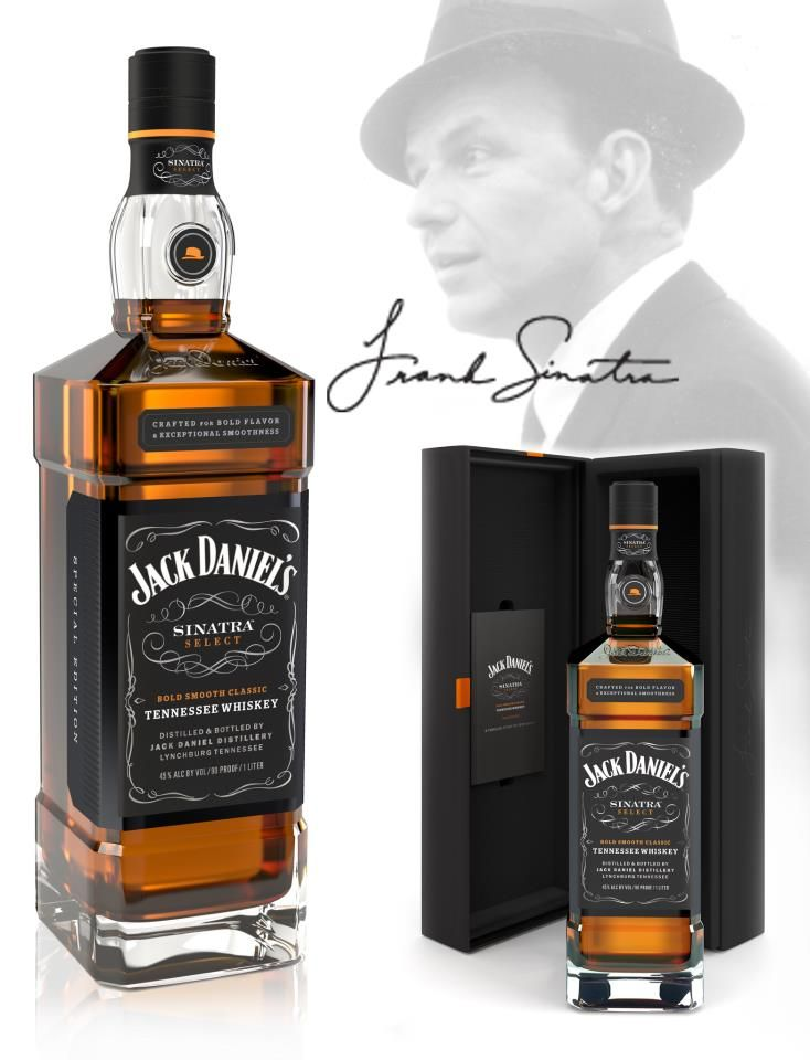 Frank sinatra chooses Jack Daniels