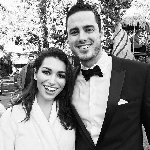 WEBSTA @ ashley_iaconetti - Only @higgins.ben can put such a dreamy look on a girl's face. I've so enjoyed spending time this week with our new Bachelor. Seriously, #bachelornation, this man is special beyond words. He radiates goodness. I love watching him engage with people. His heart is present in everything he does and says. I'm so excited for the season with the best Bachelor ever to start tonight! #thebachelor