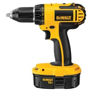 DEWALT DC720KA is 18 volt drill/driver kit with drill, 2 batteries and battery charger, and box included.