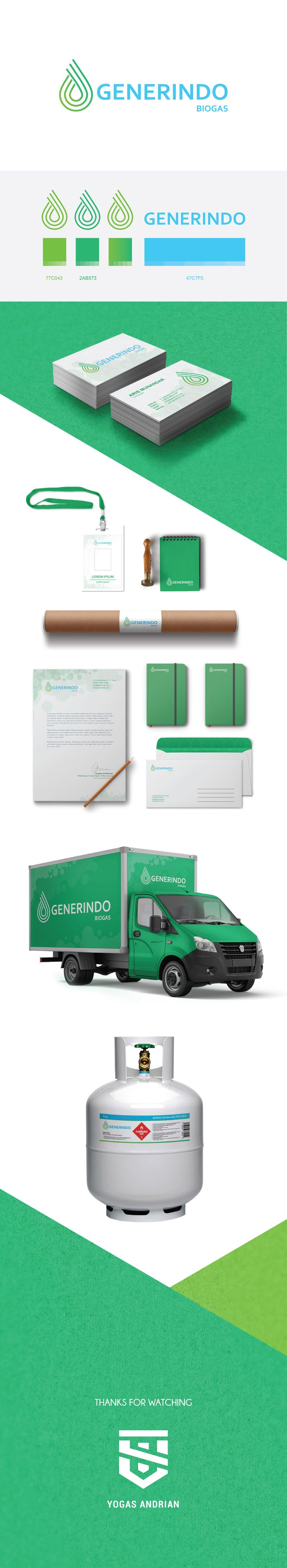 "Check out my @Behance project: ""Generindo Branding Identity"" https://www.behance.net/gallery/58631301/Generindo-Branding-Identity"